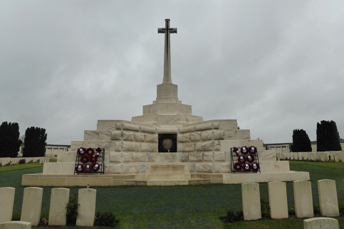 Tyne Cot cemetery, Passchendaele, Belgium