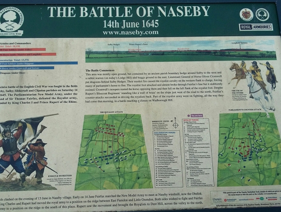 Naseby Battlefields